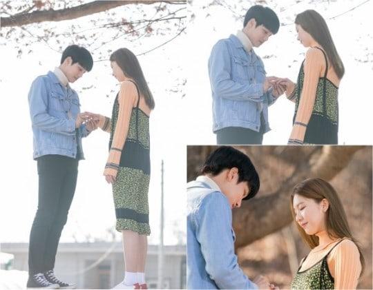 """Kai de EXO le propone matrimonio a Kim Jin Kyung en nuevas imágenes para """"Andante"""""""