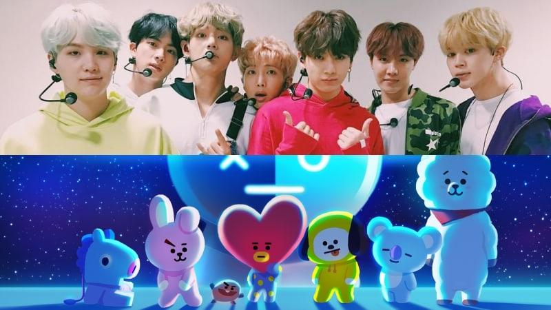 BTS muestra cómo diseñaron sus propios personajes originales de LINE FRIENDS