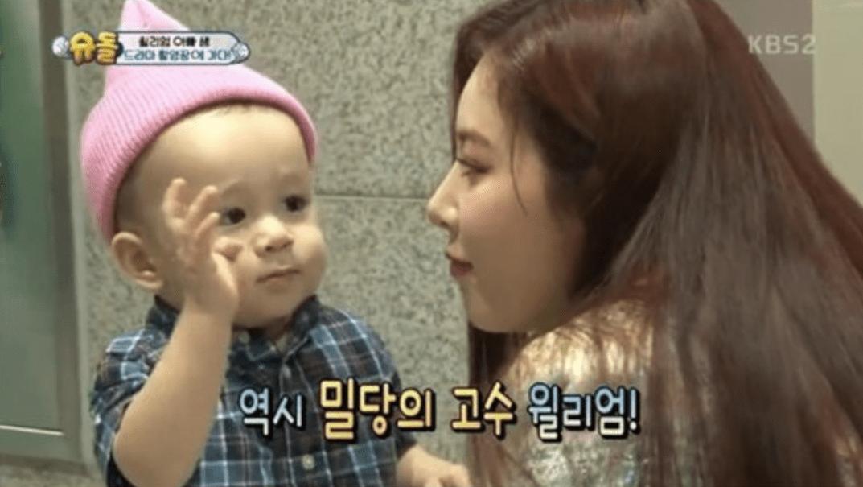 """William conoce a HyunA, al actor infantil Lee Ro Woon y más, en """"The Return of Superman"""""""