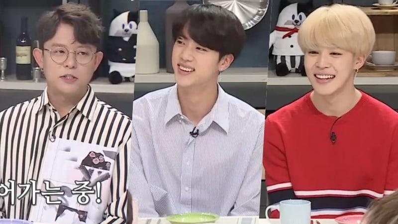 Tony Ahn de H.O.T ofrece a Jin y Jimin de BTS consejos realistas como senior en la industria