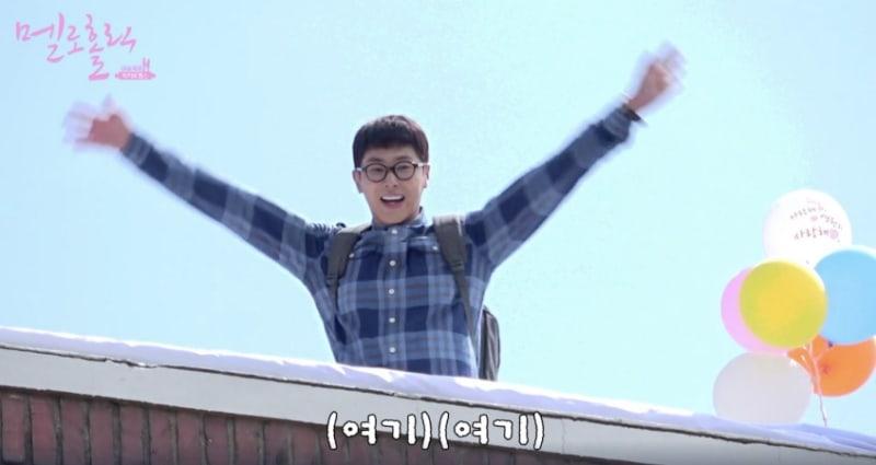 "Yunho de TVXQ comete un lindo error mientras filma ""Melo Holic"""