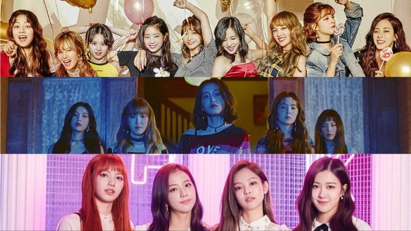 Se revela el ranking de reputación de marca de grupos de chicas para el mes de noviembre