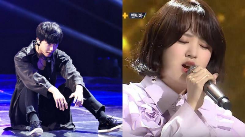 """Ex-trainee de SM, Ji Hansol, y la cantante NC.A impresionan a la audiencia en """"The Unit"""""""