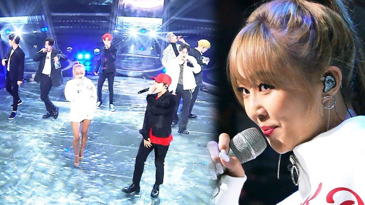 """Hyorin y GOT7 impresionan con gran presentación de """"Blue Moon"""" en """"Fantastic Duo 2"""""""