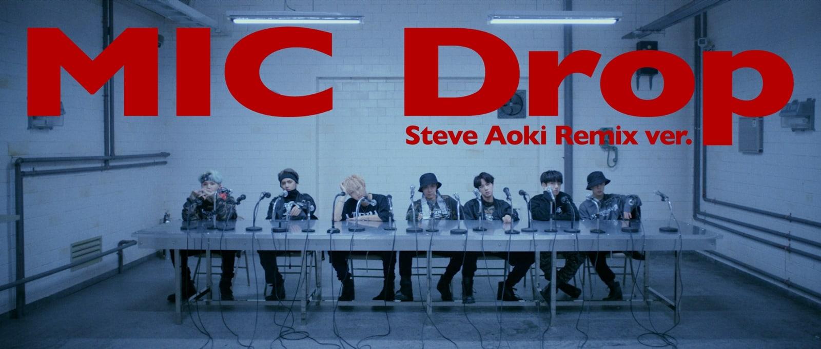 Resultado de imagen para BTS & Steve Aoki - Mic Drop (Remix)