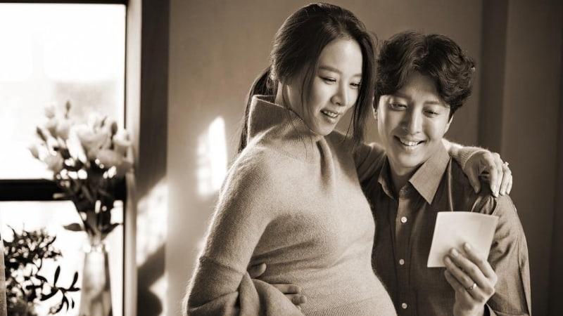 Jo Yoon Hee muestra su panza de embarazo en una nueva foto