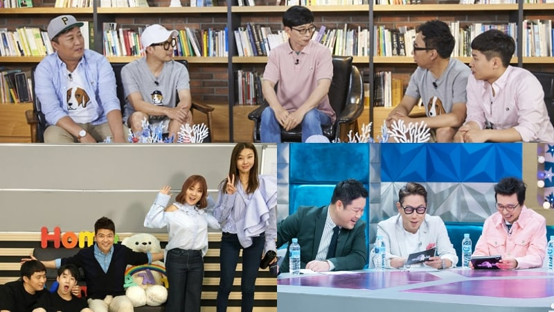 Los programas de variedades de MBC establecen fechas de grabación en preparación para su regreso