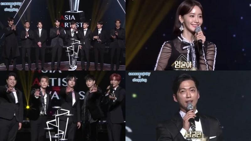 Ganadores de los 2017 Asia Artist Awards