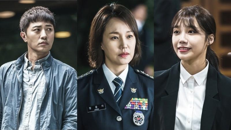 """Jin Goo, Jin Kyung y Jung Eun Ji son presentados en nuevas imágenes reveladas de """"Untouchable"""""""