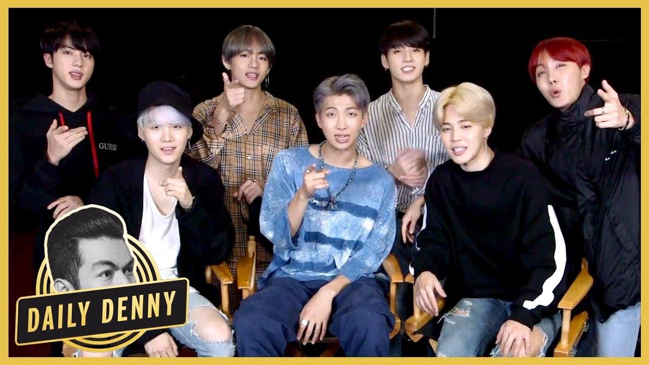 BTS habla sobre citas, el verdadero amor y más, con Entertainment Tonight
