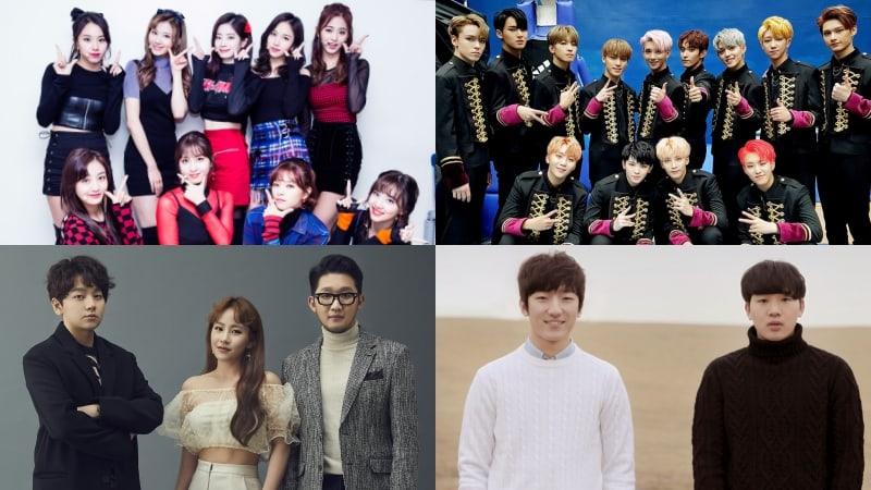 TWICE, SEVENTEEN, Urban Zakapa y MeloMance lideran las listas semanales de Gaon