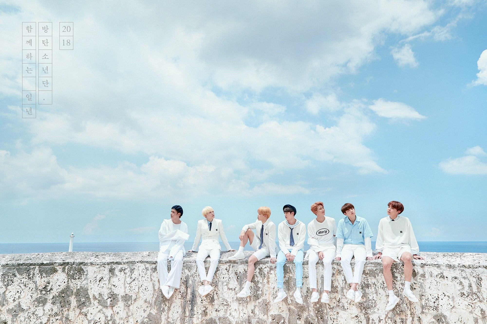 BTS lanza teasers grupales e individuales para el 2018 Season's Greetings