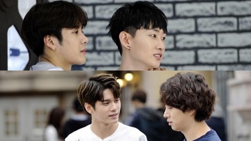 """Los miembros de Super Junior, Wanna One y GOT7 se enfrentan entre ellos en nuevas imágenes para """"Master Key"""""""