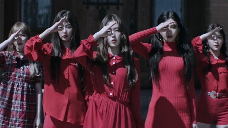 Red Velvet Peek A Boo
