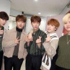 B1A4 celebra el cumpleaños de Jin Young con un camión de café casi sorpresa