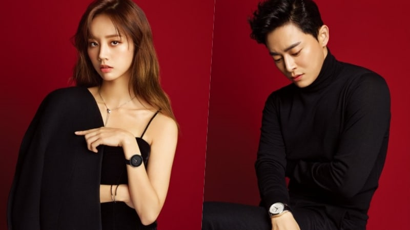 """Los protagonistas de """"Two Cops"""", Hyeri y Jo Jung Suk, hablan sobre trabajar juntos y posan en una sesión fotográfica de pareja"""