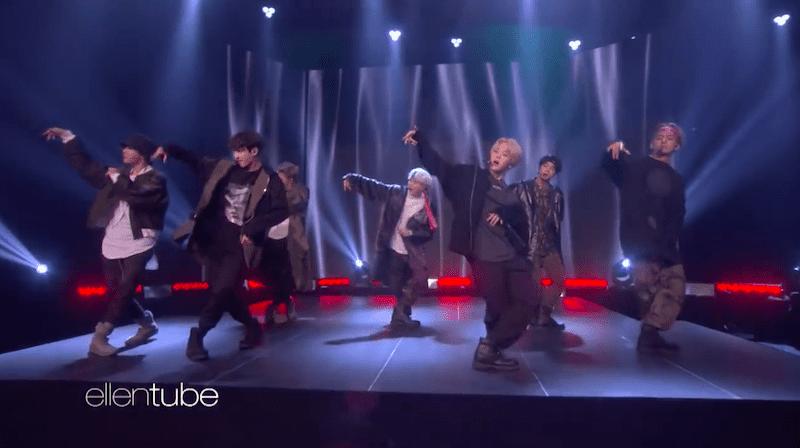 """BTS impresiona con primera presentación en televisión de su remix """"MIC Drop"""" y """"DNA"""" en """"The Ellen DeGeneres Show"""""""