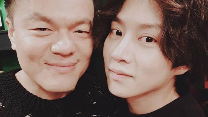 Park Jin Young y Heechul de Super Junior se toman el pelo el uno al otro sin misericordia
