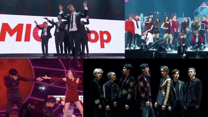 Presentaciones de los 2017 Mnet Asian Music Awards (MAMA) en Hong Kong