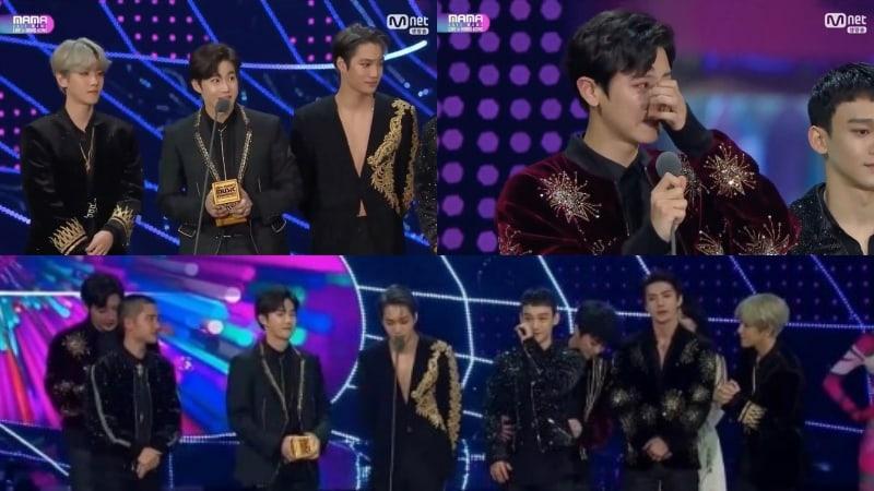 EXO gana el premio a Álbum del Año rompiendo el récord con 5 años consecutivos en los 2017 Mnet Asian Music Awards (MAMA)