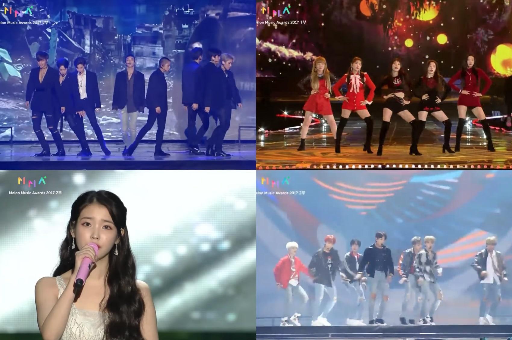 Presentaciones de los 2017 Melon Music Awards