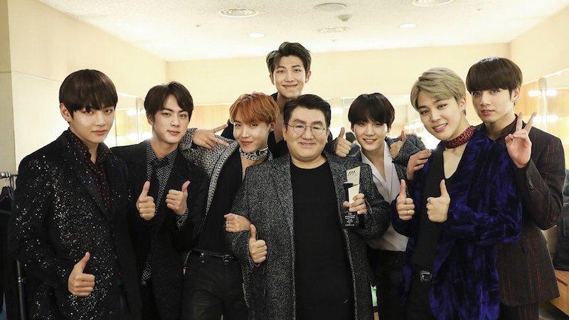 El CEO de Big Hit, Bang Shi Hyuk recibirá un premio presidencial por su trabajo con BTS