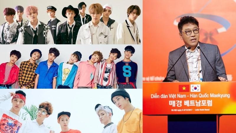 Lee Soo Man anuncia planes para NCT Vietnam