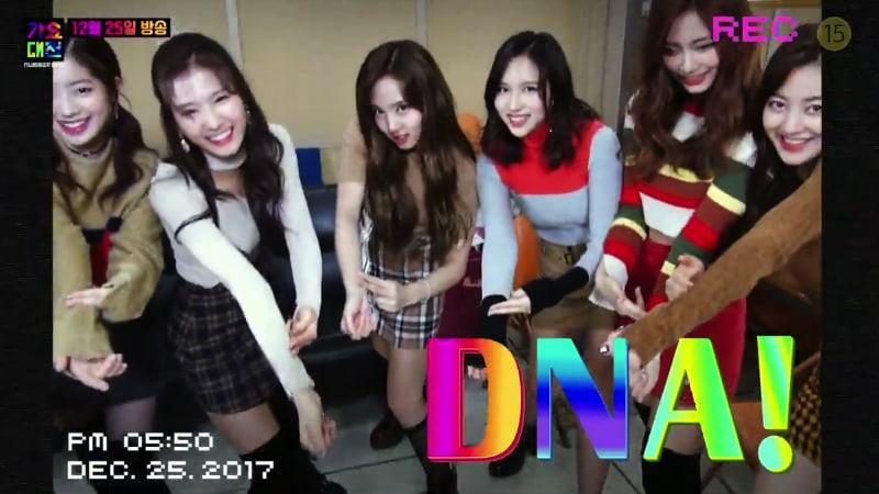 """TWICE baila canciones de BTS, EXO y más, en teaser para el """"2017 SBS Gayo Daejun"""""""