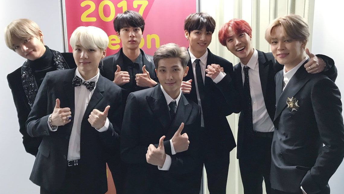 BTS se convierte en el primer artista K-Pop en entrar a la A-List de pop de Apple Music