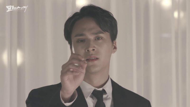 """Son Dongwoon de Highlight impresiona con su potente voz en el MV para el musical """"Sandglass"""""""