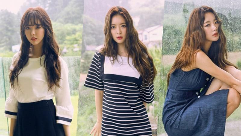 Serri, Ah Young y Subin de Dal Shabet dejan Happyface Entertainment