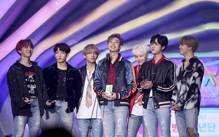 Se revela tardíamente que el Global Artist Award de BTS en los 2017 Melon Music Awards es un gran premio