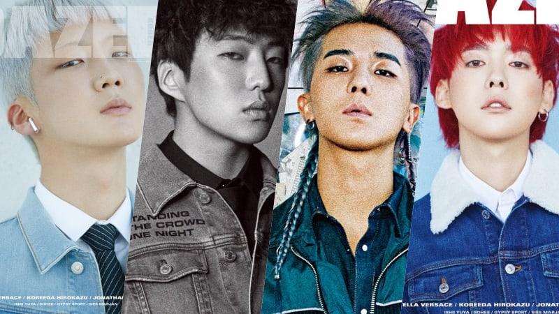 WINNER modela looks con estilo en portadas individuales para Dazed Korea