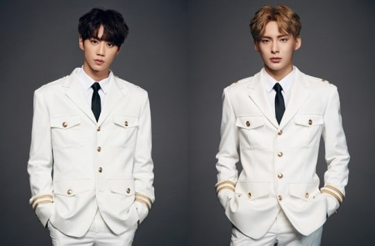 "Jun de U-KISS halaga a su compañero de ""The Unit"" Jun de A.C.E"