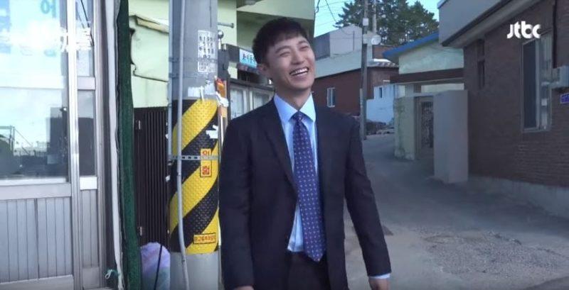 """Jin Goo quiere ir a casa desesperadamente y comer ramen en nuevo detrás de cámaras para """"Untouchable"""""""