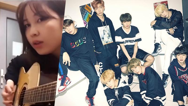"""Kwon Jin Ah deleita con un cover acústico de """"DNA"""" de BTS"""