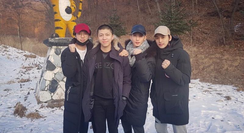 Soohyun de U-KISS comienza tranquilamente su servicio militar