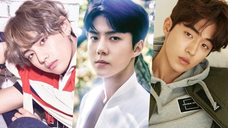 Estrellas coreanas masculinas en la lista de la 100 estrellas con los rostros más bellos de 2017