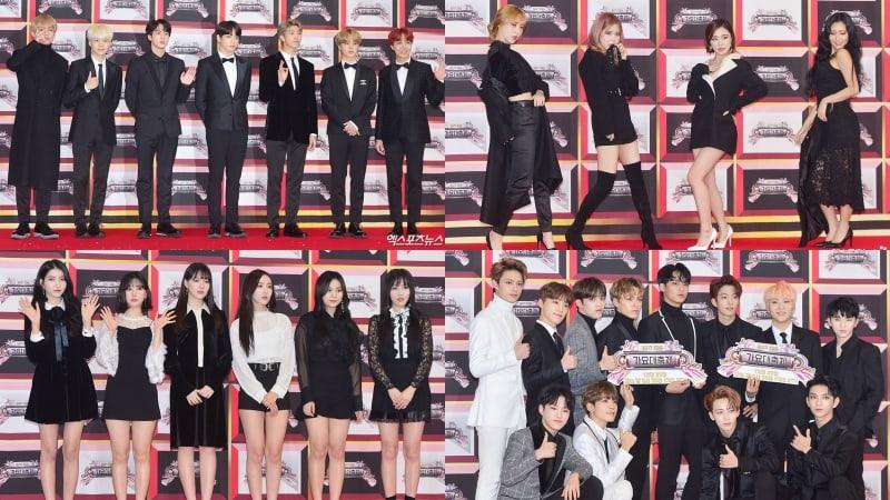 """Estrellas brillaron en la alfombra roja con sus espectaculares apariencias para el """"2017 KBS Song Festival"""""""