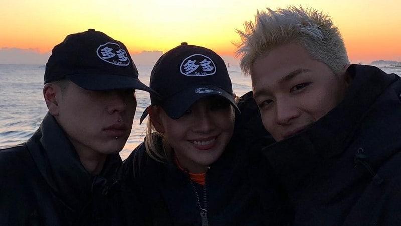 """Los miembros del elenco de """"Livin' The Double Life"""" CL, Taeyang y Oh Hyuk compartieron un dulce momento"""