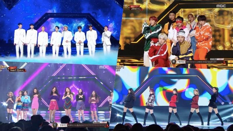"""EXO, BTS, TWICE, Red Velvet y muchos más, dan la bienvenida al año nuevo con presentaciones en el """"2017 MBC Gayo Daejejun"""""""