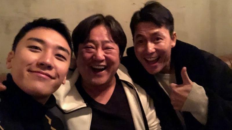 Kwak Do Won y Jung Woo Sung se divierten en el concierto y en el after party de BIGBANG