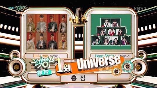 """EXO se lleva su 1era victoria con """"Universe"""" en """"Music Bank""""; presentaciones de MOMOLAND, N.Flying y más"""