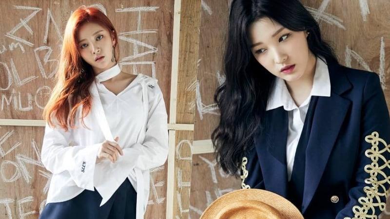 Haein de LABOUM felicita a Yulhee después de saber la noticia de su matrimonio