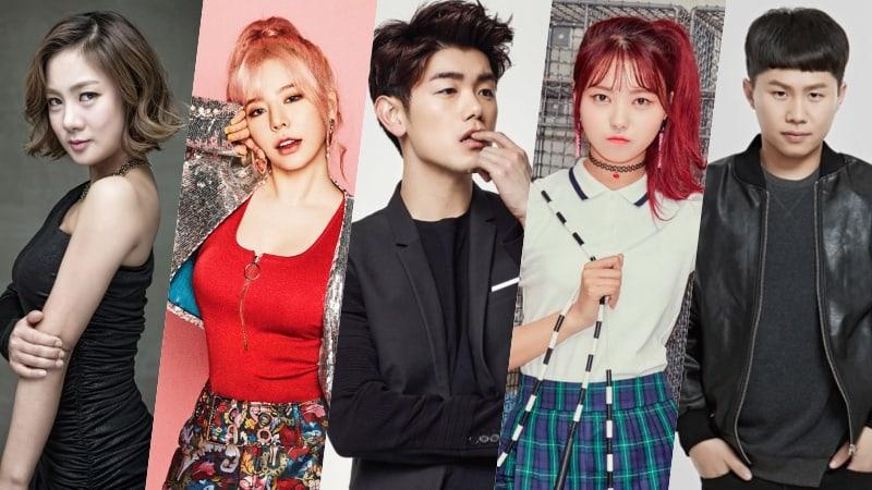 Sunny de Girls' Generation, Eric Nam, Nayoung de PRISTIN y más se unen a un nuevo programa de variedades