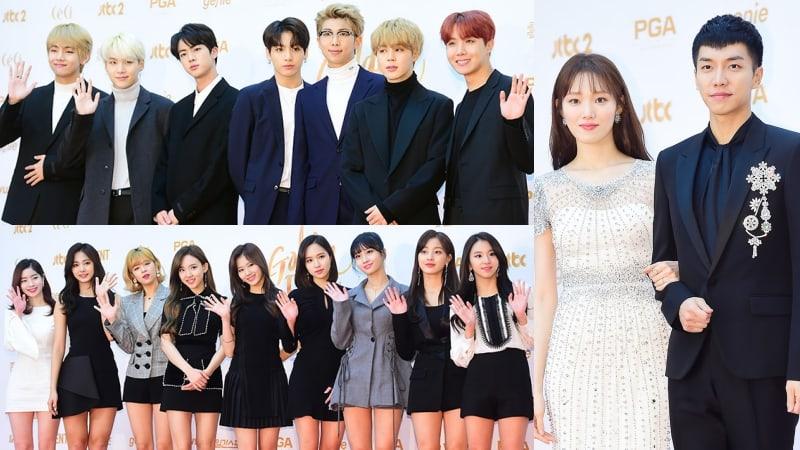 Estrellas deslumbran en la alfombra roja del primer día de los 32° Golden Disc Awards