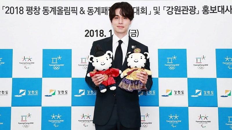 Lee Dong Wook nombrado embajador honorario para los Juegos Olímpicos de Invierno PyeongChang 2018