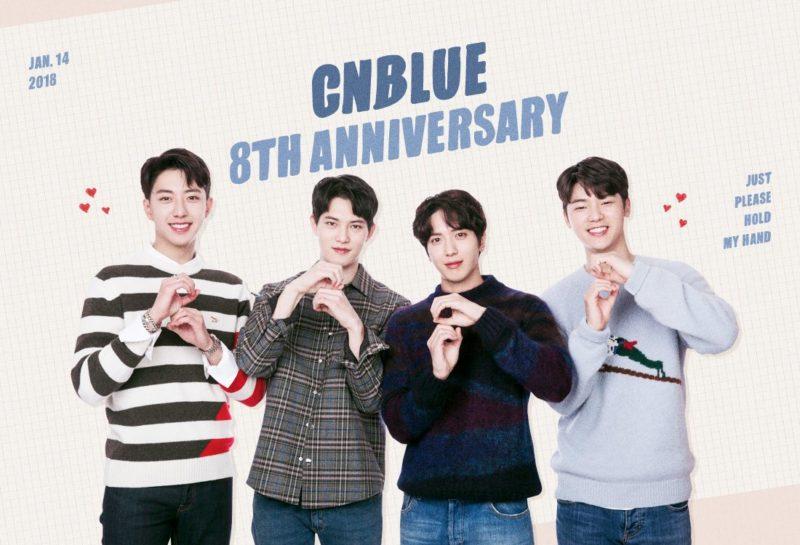 CNBLUE celebra su 8vo aniversario de debut con conmovedores mensajes de agradecimiento