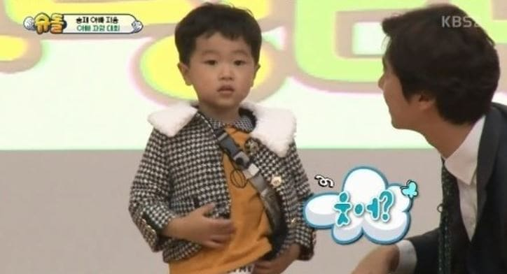 "Seungjae avergüenza adorablemente a su padre en ""The Return Of Superman"""