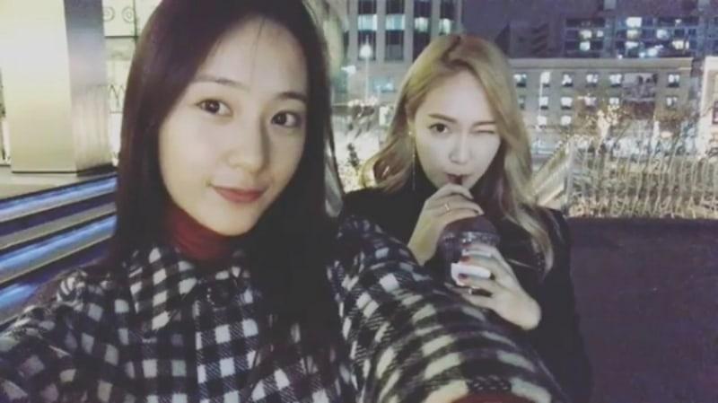 Krystal de f(x) habla acerca de depender de su hermana Jessica